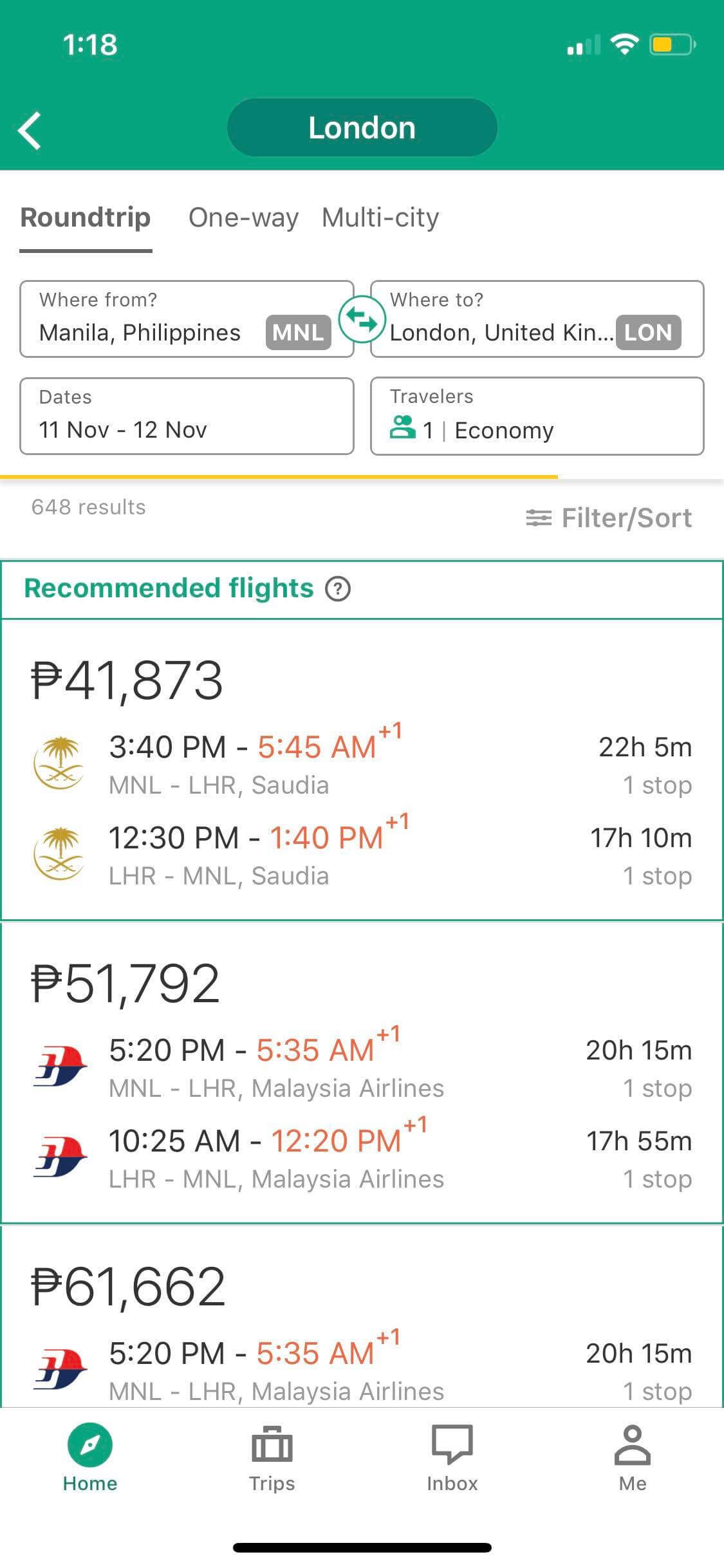 Onboarding on iOS by Tripadvisor from UIGarage
