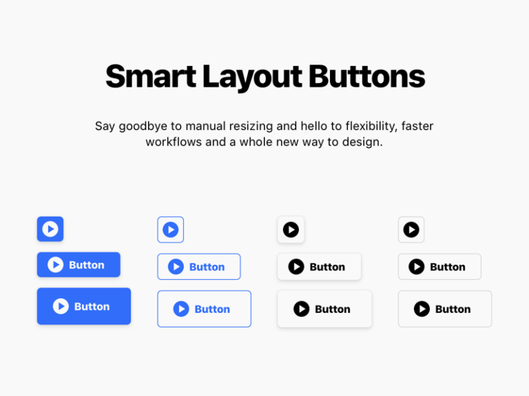 Smart Layout Buttons for Sketch from UIGarage
