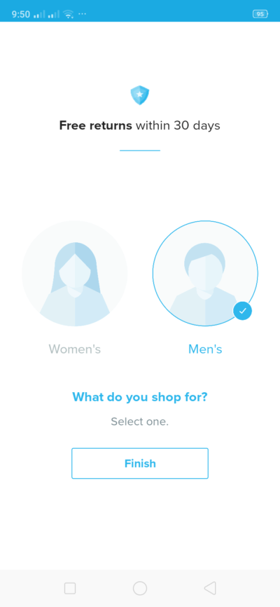 Gender on Android by Wish from UIGarage