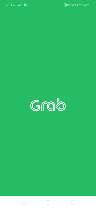 Launch Screen on Android by Grab from UIGarage