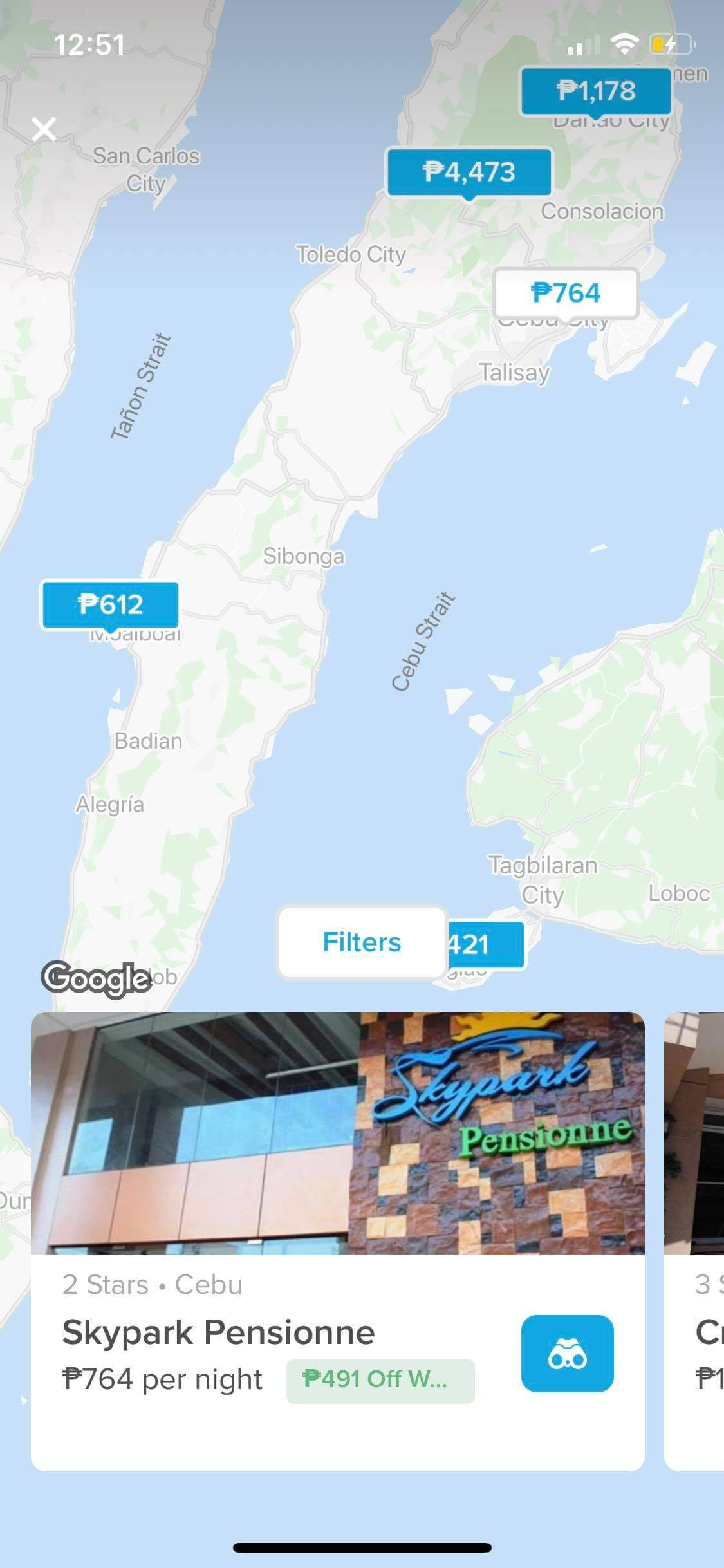 Maps on iOS by Hopper from UIGarage