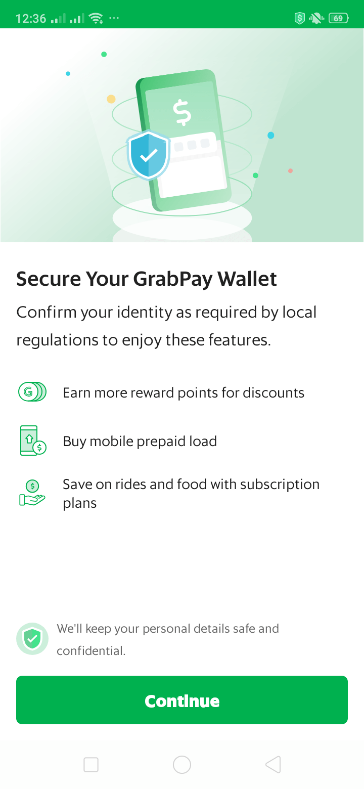 Secure on Android by Grab from UIGarage
