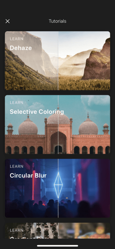 Store on iOS by Polarr from UIGarage