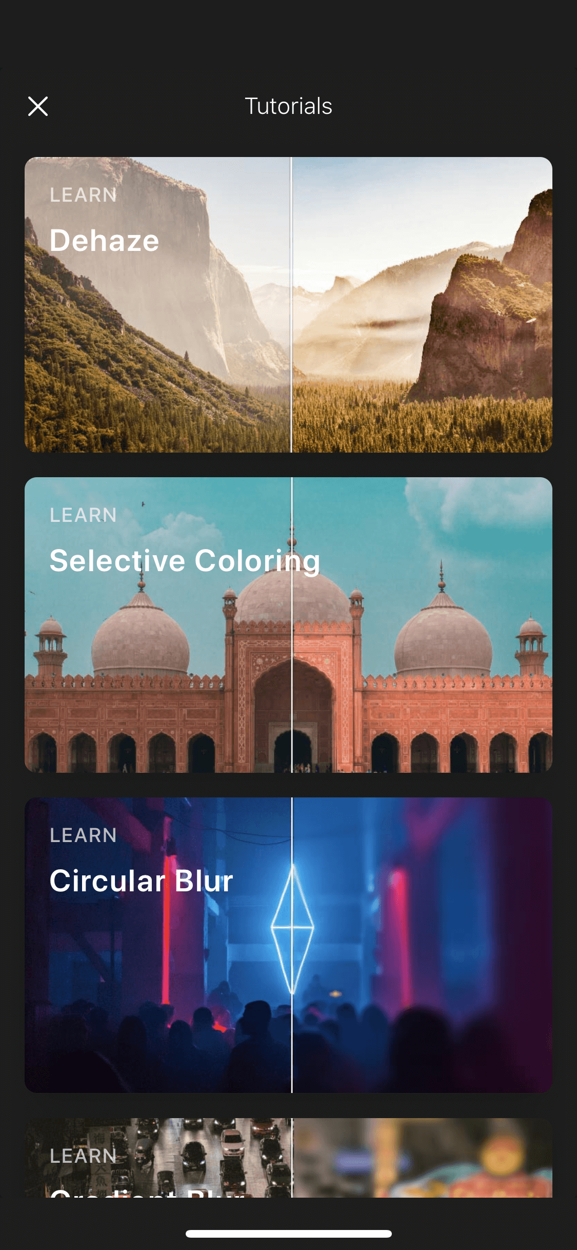 Store on iOS by Polarr