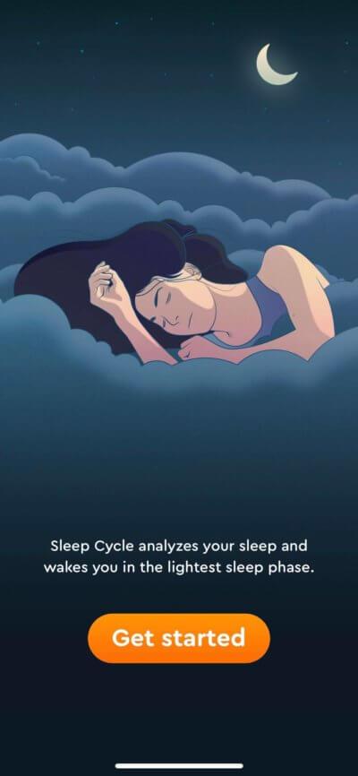Walkthrough on iOS by Sleep Cycle from UIGarage