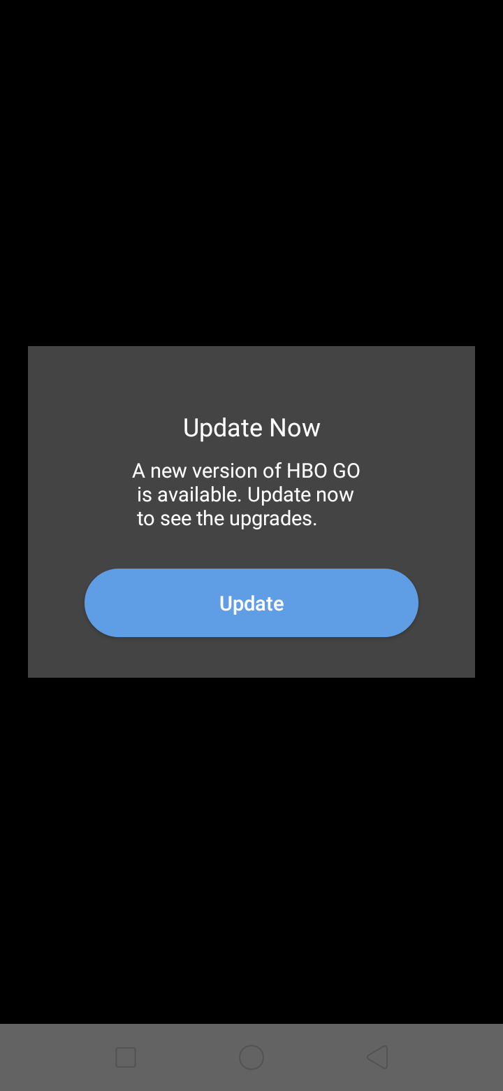 Alert on Android by HBO GO from UIGarage