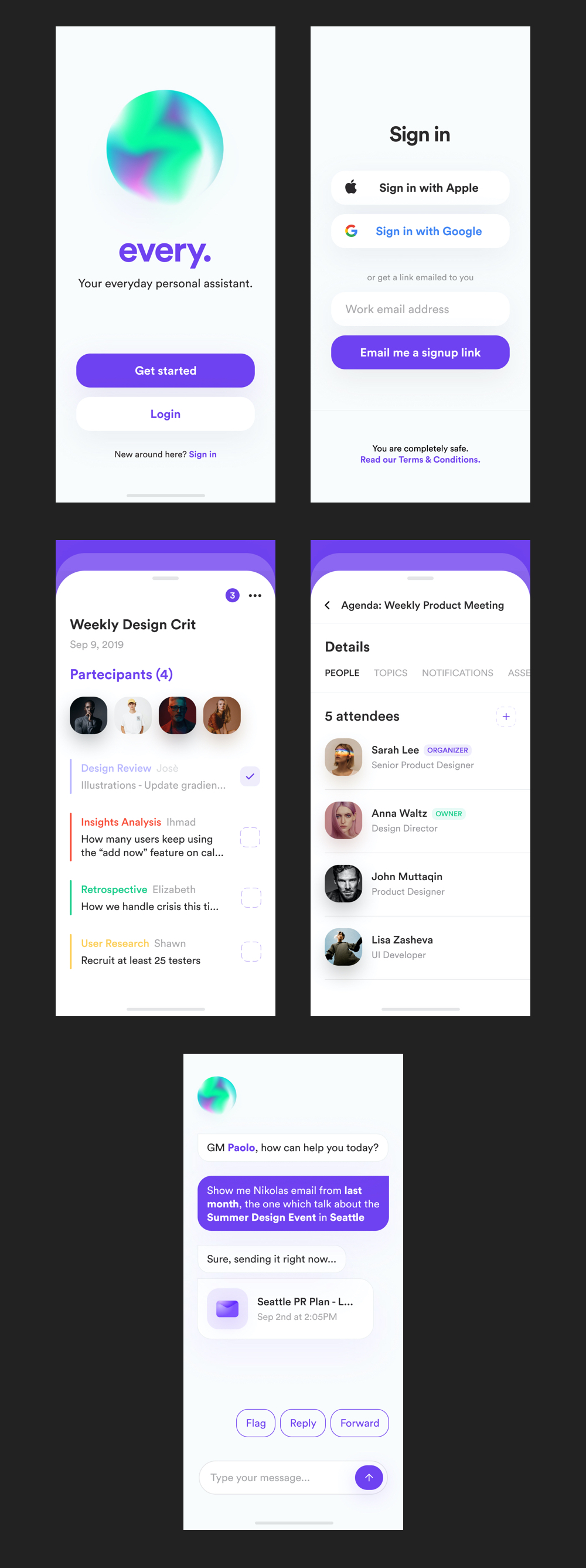 every. UI Kit for Figma from UIGarage