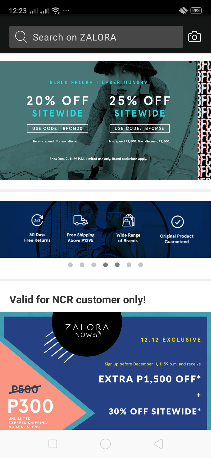 Home on Android by Zalora from UIGarage