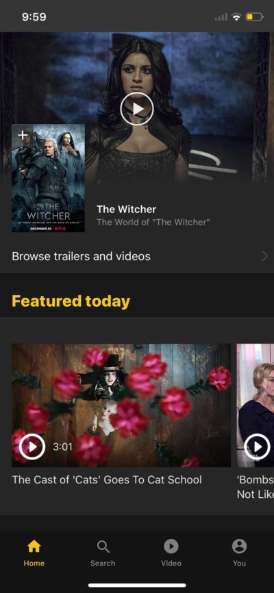 Home on iOS by IMDb from UIGarage