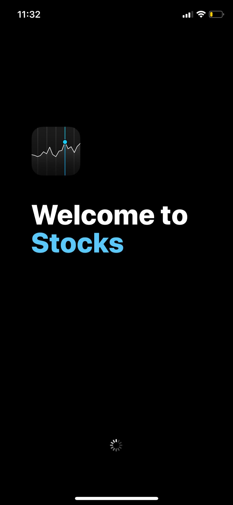 Launch Screen on iOS by Apple Stock from UIGarage