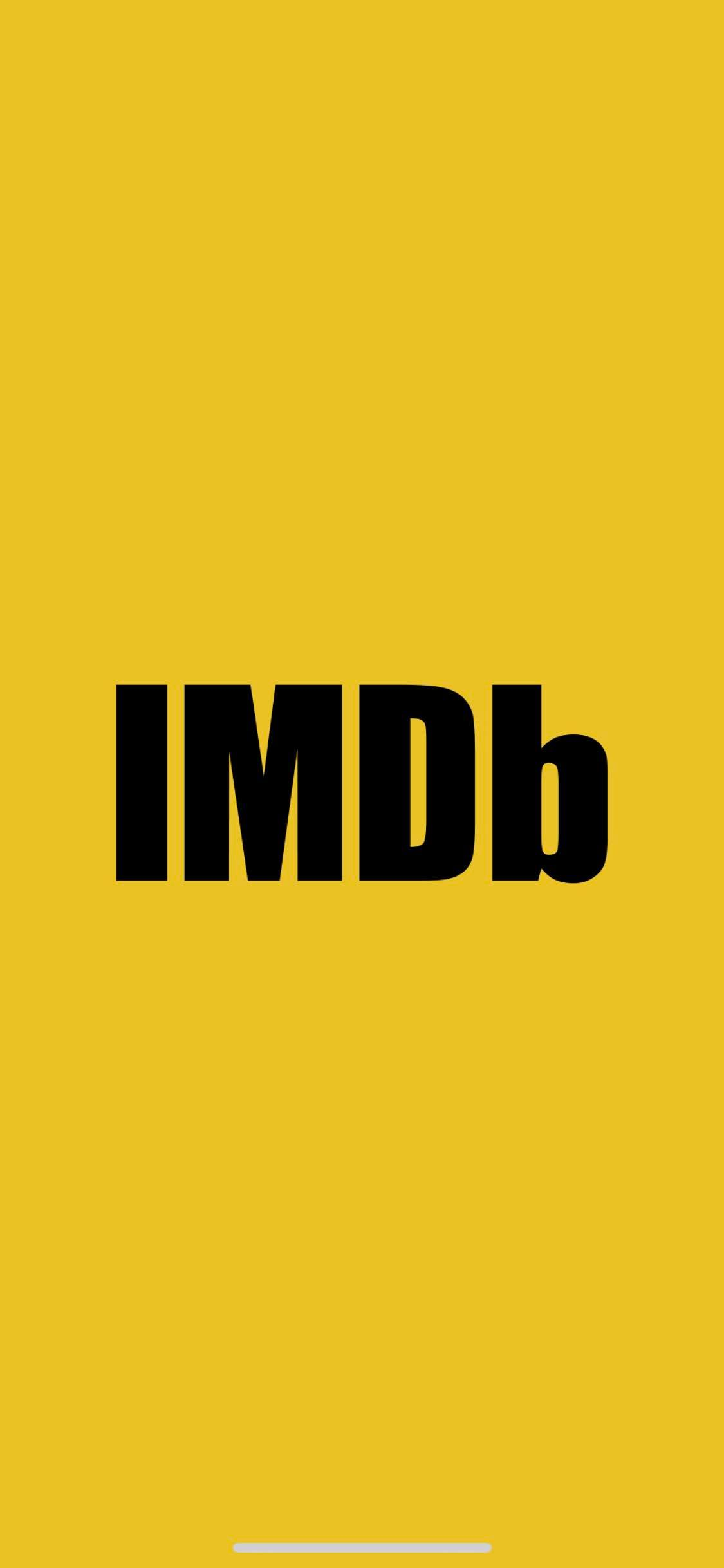 Launch Screen on iOS by IMDb from UIGarage