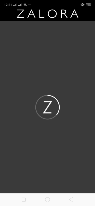 Loading on Android by Zalora from UIGarage