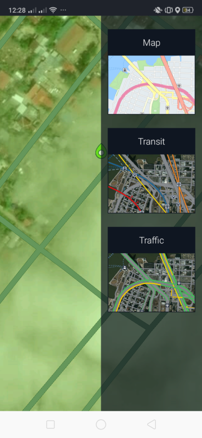 Map Style on Android by Here from UIGarage