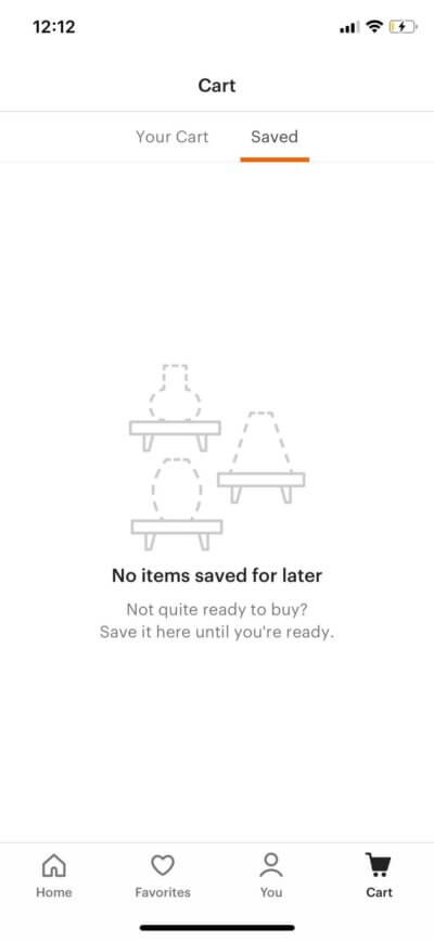 Saved on iOS by Etsy from UIGarage