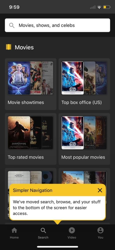 Tutorial on iOS by IMDb from UIGarage
