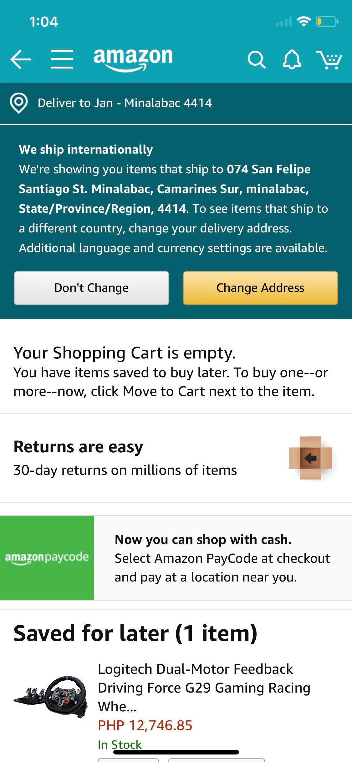 Alert on iOS by Amazon from UIGarage