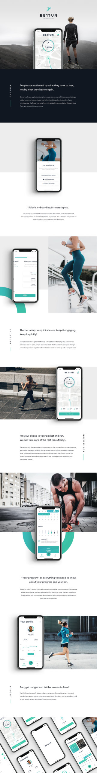 Betrun UI Kit for Sketch from UIGarage