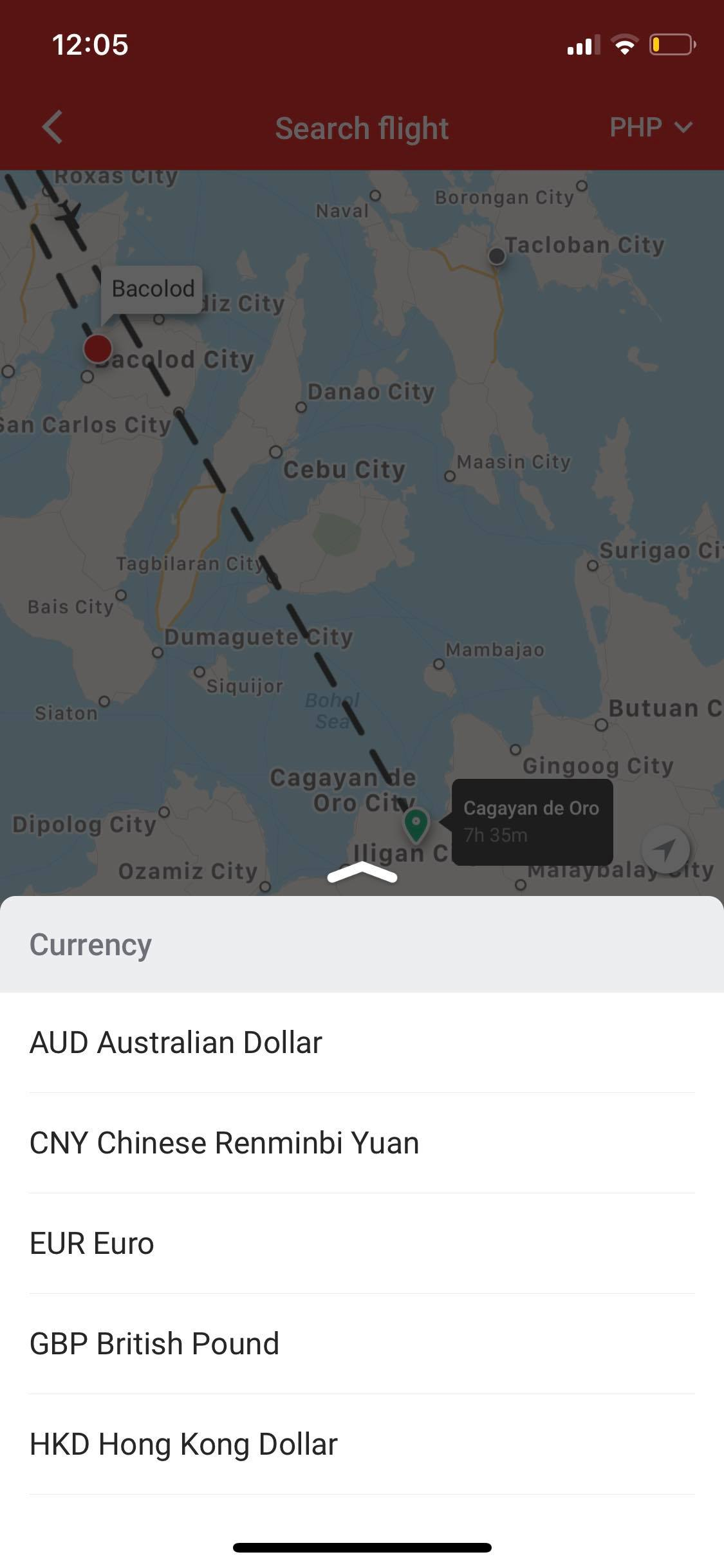 Currency Picker on iOS by AirAsia from UIGarage