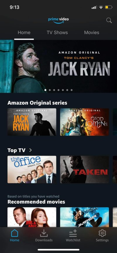 Home on iOS by Prime Video from UIGarage