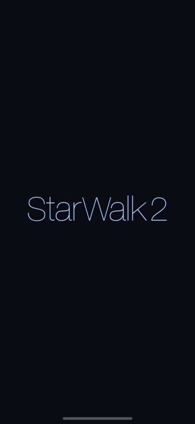 Launch Screen on iOS by Star Walk from UIGarage
