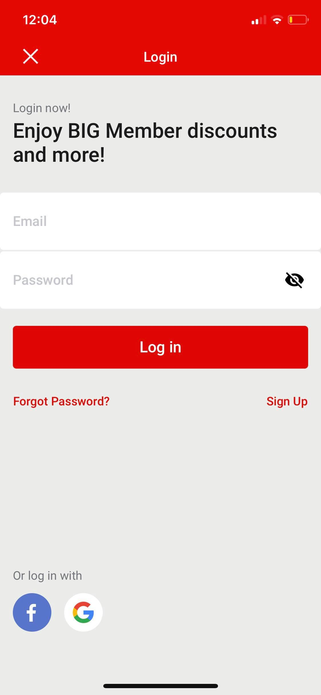 Login on iOS by AirAsia from UIGarage