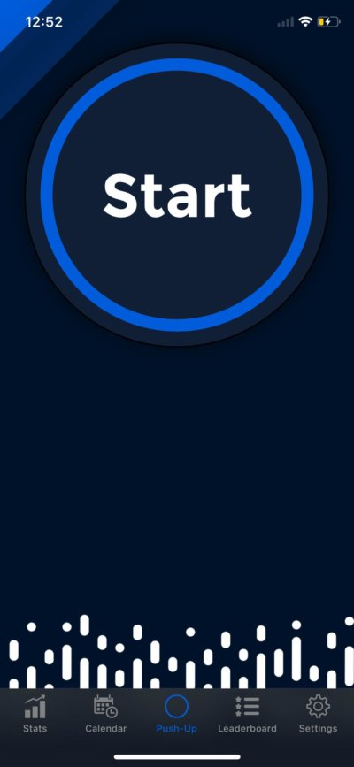 Start on iOS by PushFit from UIGarage