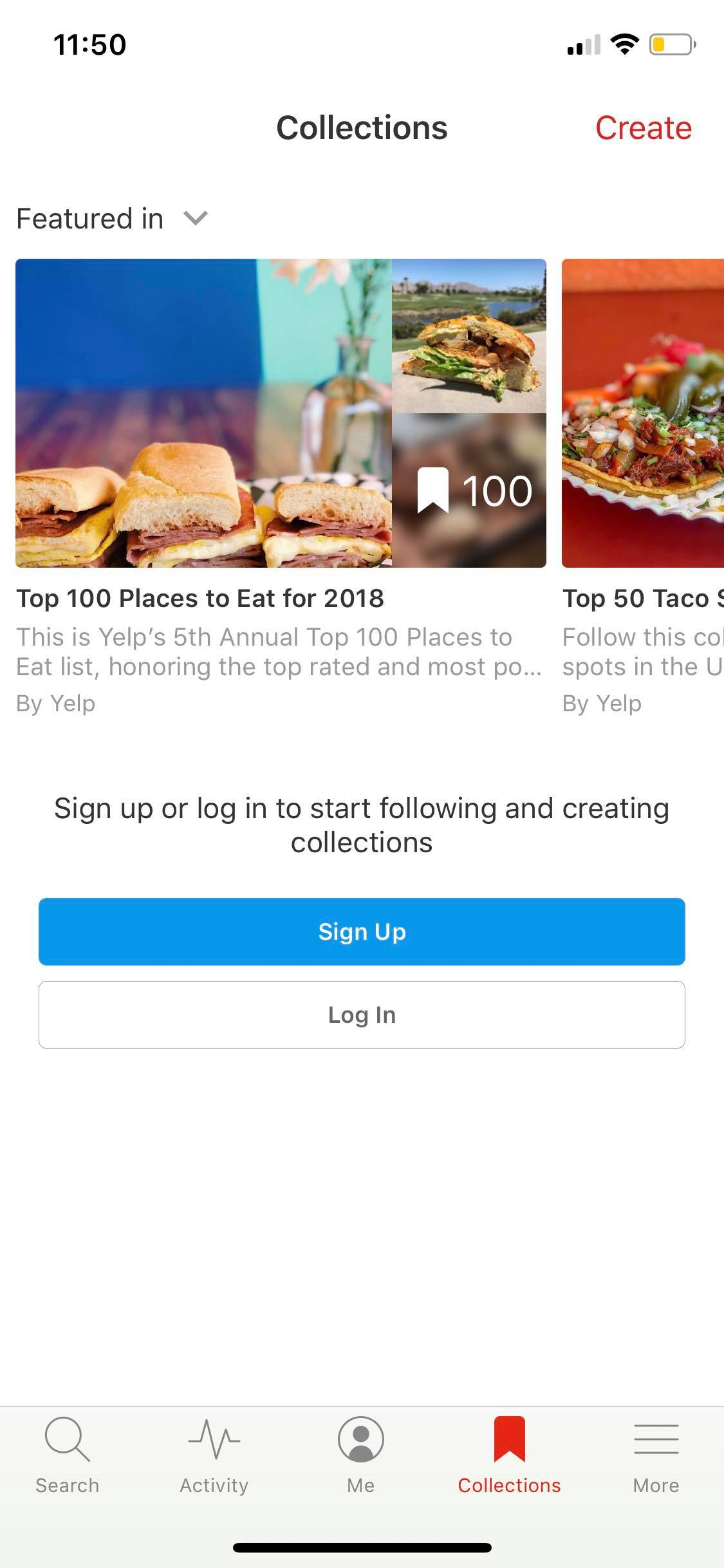 Collections on iOS by Yelp from UIGarage