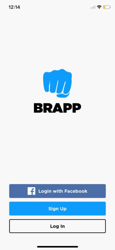 Launch Screen on iOS by Brapp from UIGarage