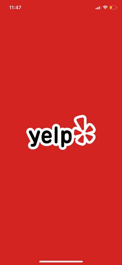 Launch Screen on iOS by Yelp from UIGarage