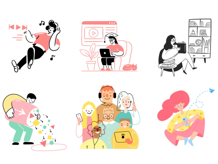80 Streamline Free Illustrations from UIGarage