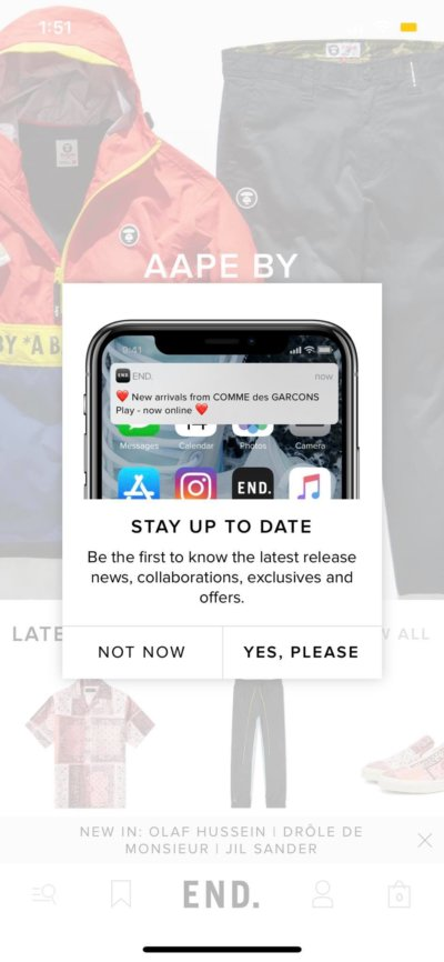 Alert on iOS by End from UIGarage