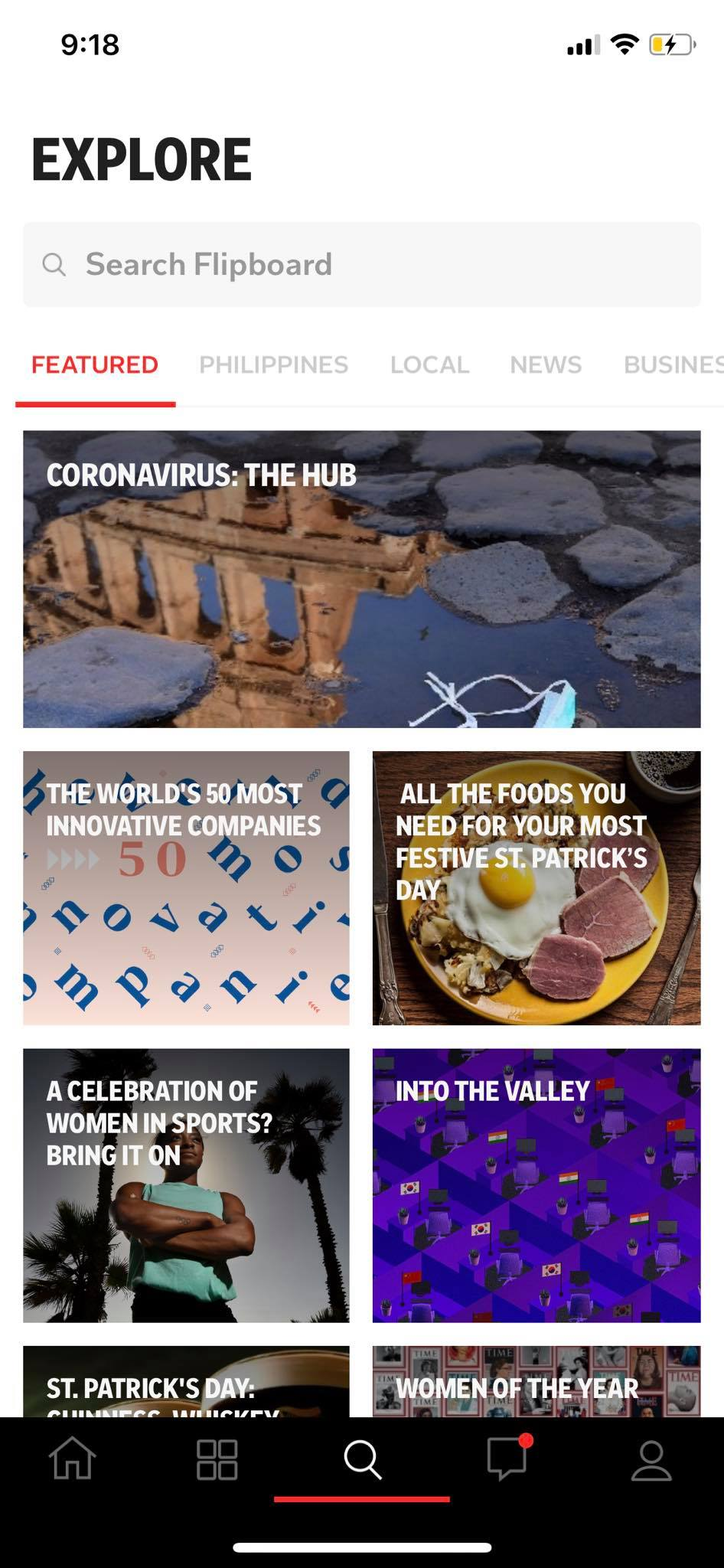 Explore on iOS by Flipboard from UIGarage