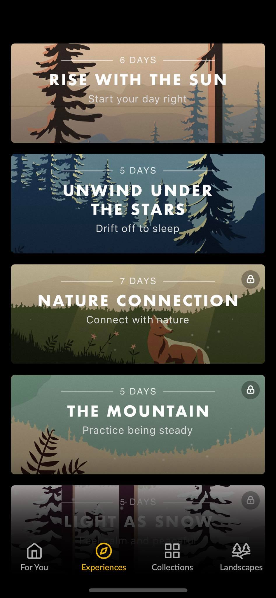 Experiences on iOS by Wild Journey from UIGarage