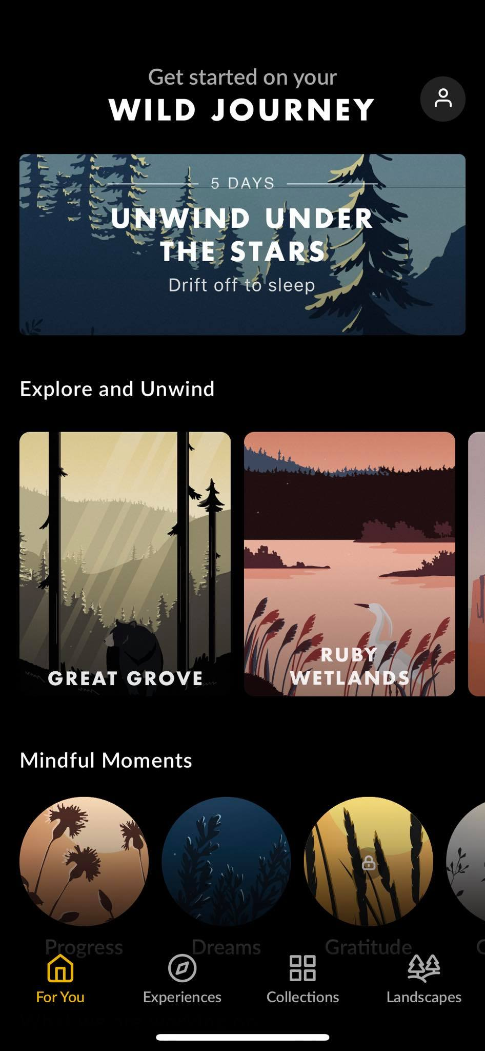 Home on iOS by Wild Journey from UIGarage