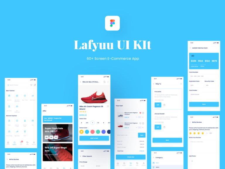 Lafyuu E-commerce UI Kit for Figma from UIGarage