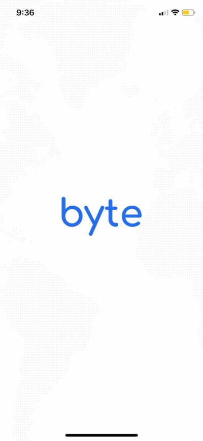 Launch Screen on iOS by Byte from UIGarage
