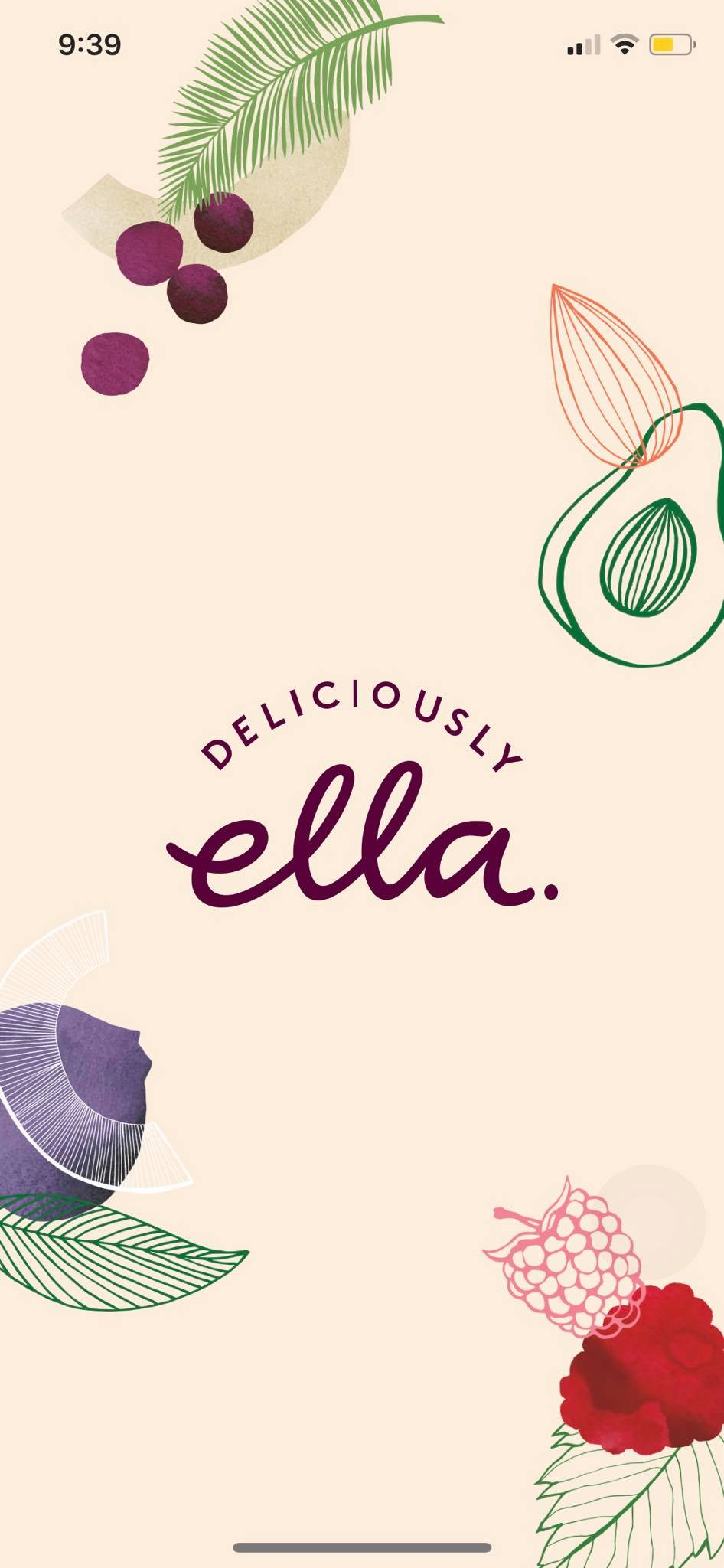 Launch Screen on iOS by Deliciously Ella from UIGarage