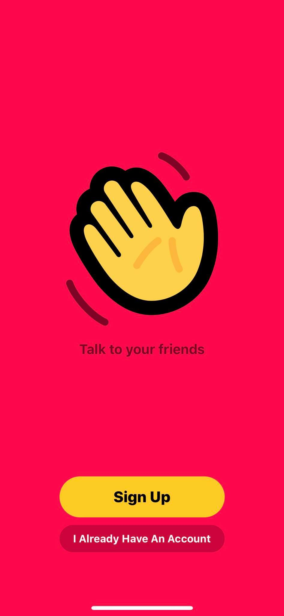 Launch Screen on iOS by Houseparty from UIGarage