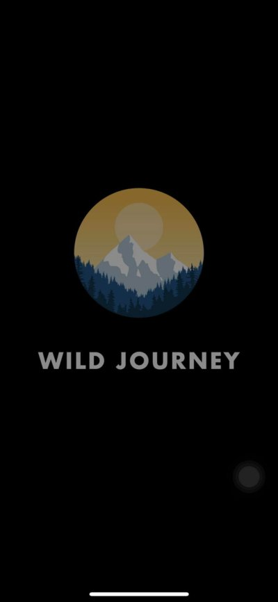 Launch Screen on iOS by Wild Journey from UIGarage