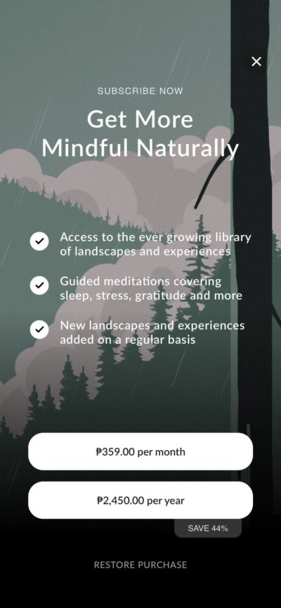 Premium on iOS by Wild Journey from UIGarage
