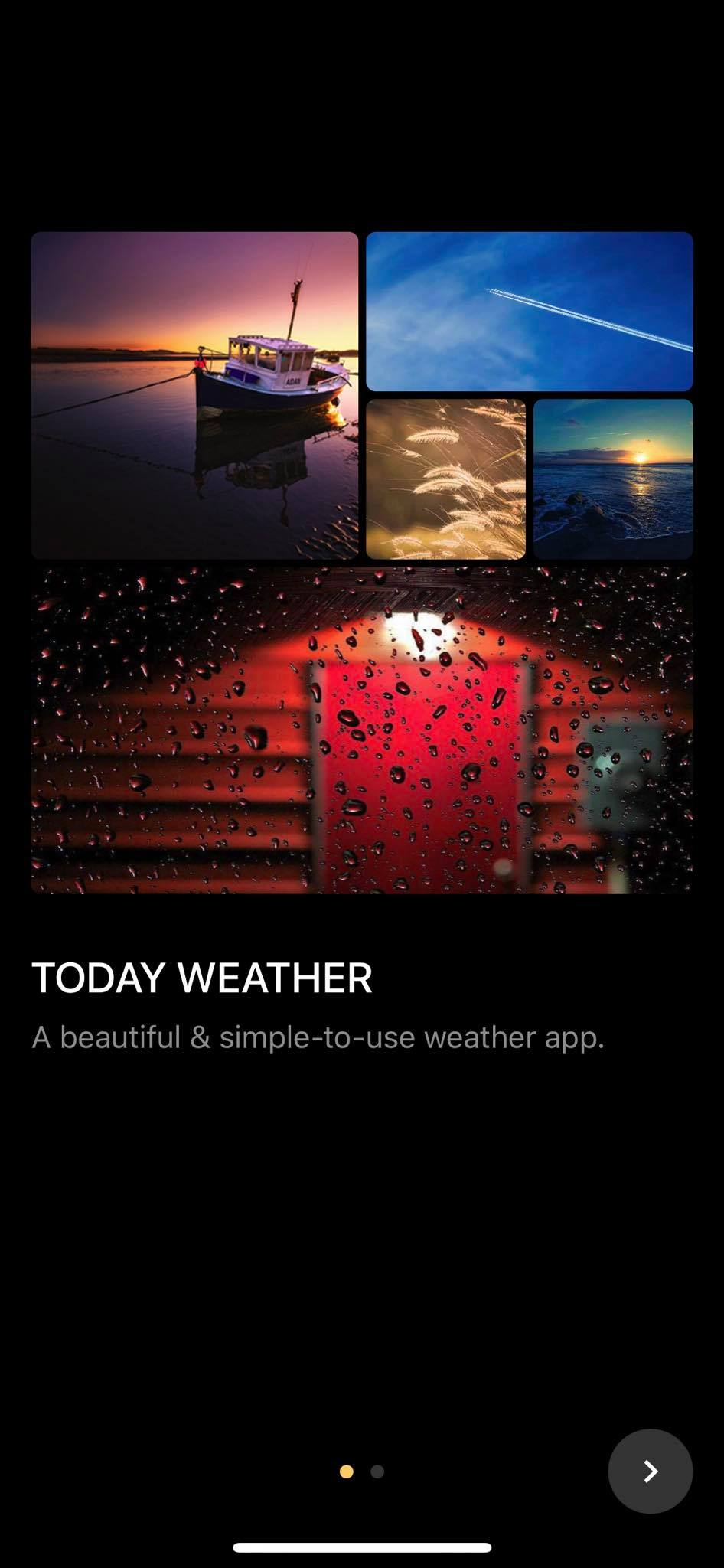 Walkthrough on iOS by Today Weather from UIGarage