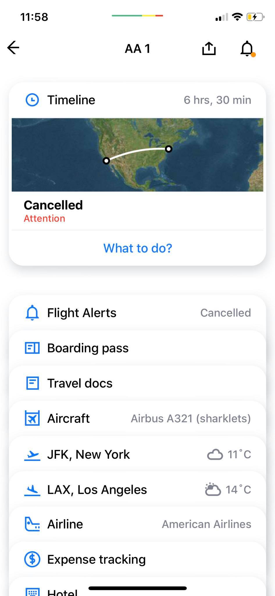 Content Screen on iOS by App in the Air from UIGarage