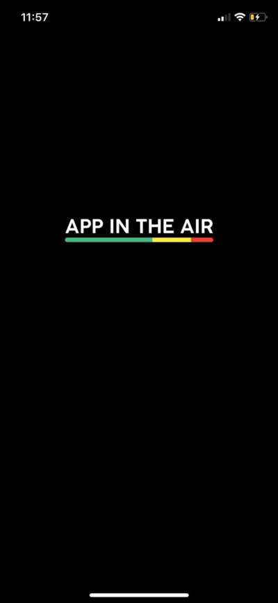 Launch Screen on iOS by App in the Air from UIGarage