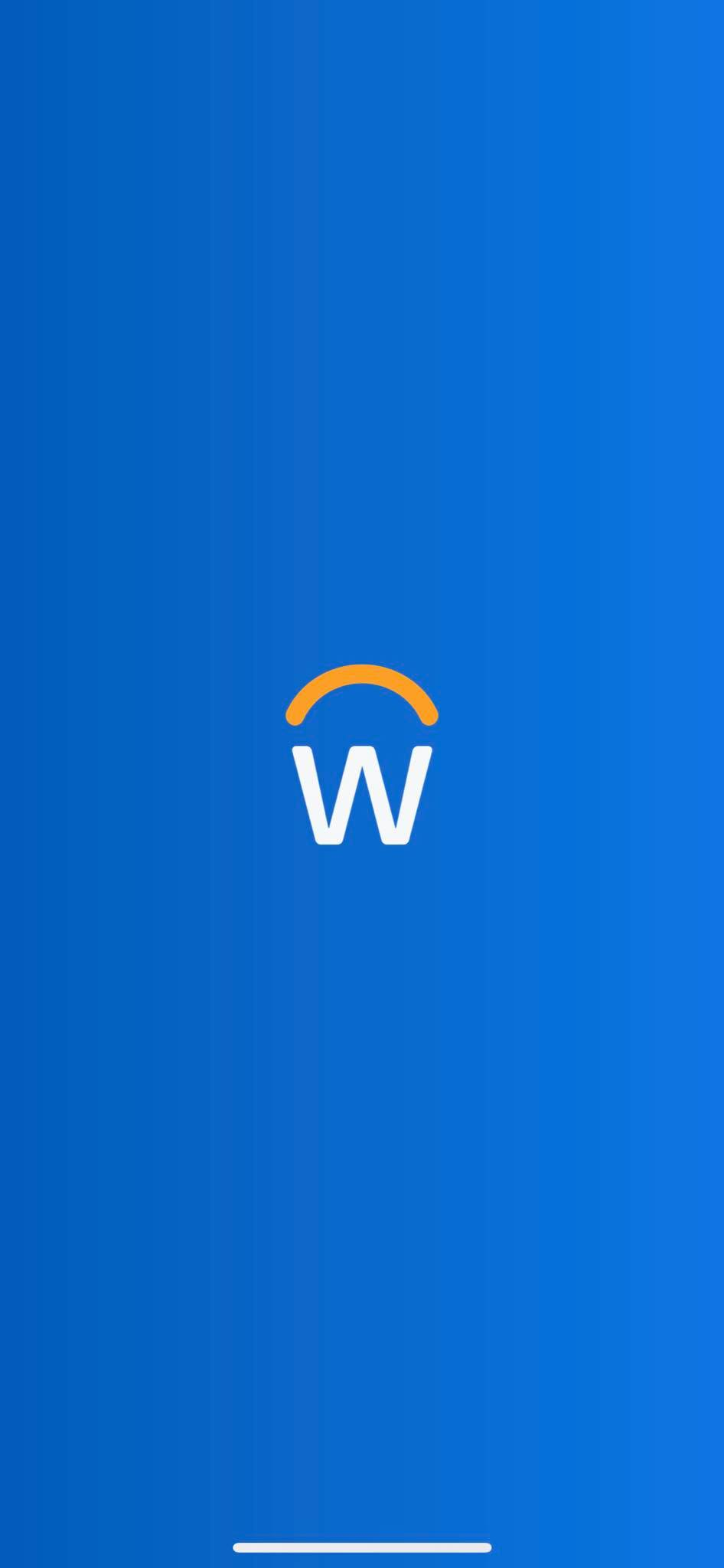 Launch Screen on iOS by Workday from UIGarage