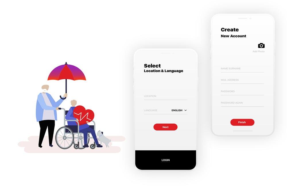 Swissfund App Auto Animation from UIGarage