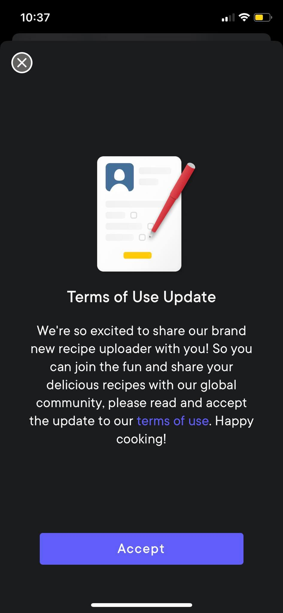 Ask Permission on iOS by Kitchen Stories from UIGarage
