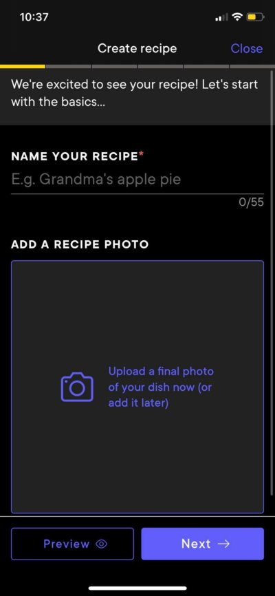 Create on iOS by Kitchen Stories from UIGarage