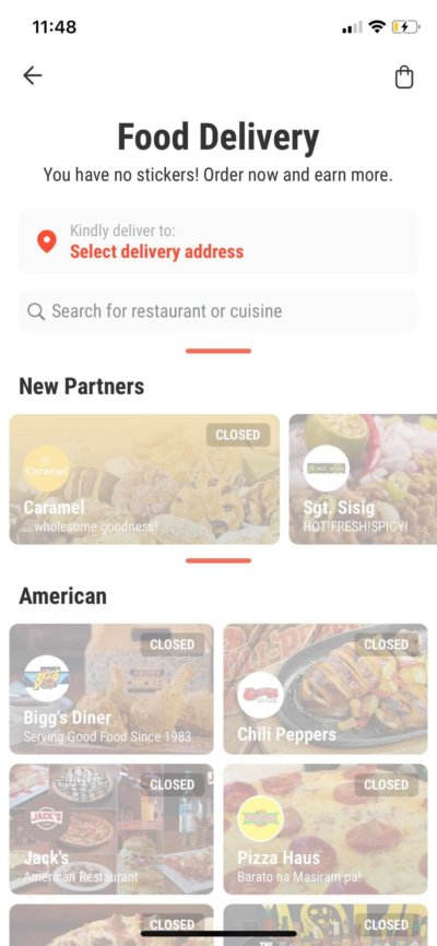 Food Delivery on iOS by Hungrily from UIGarage