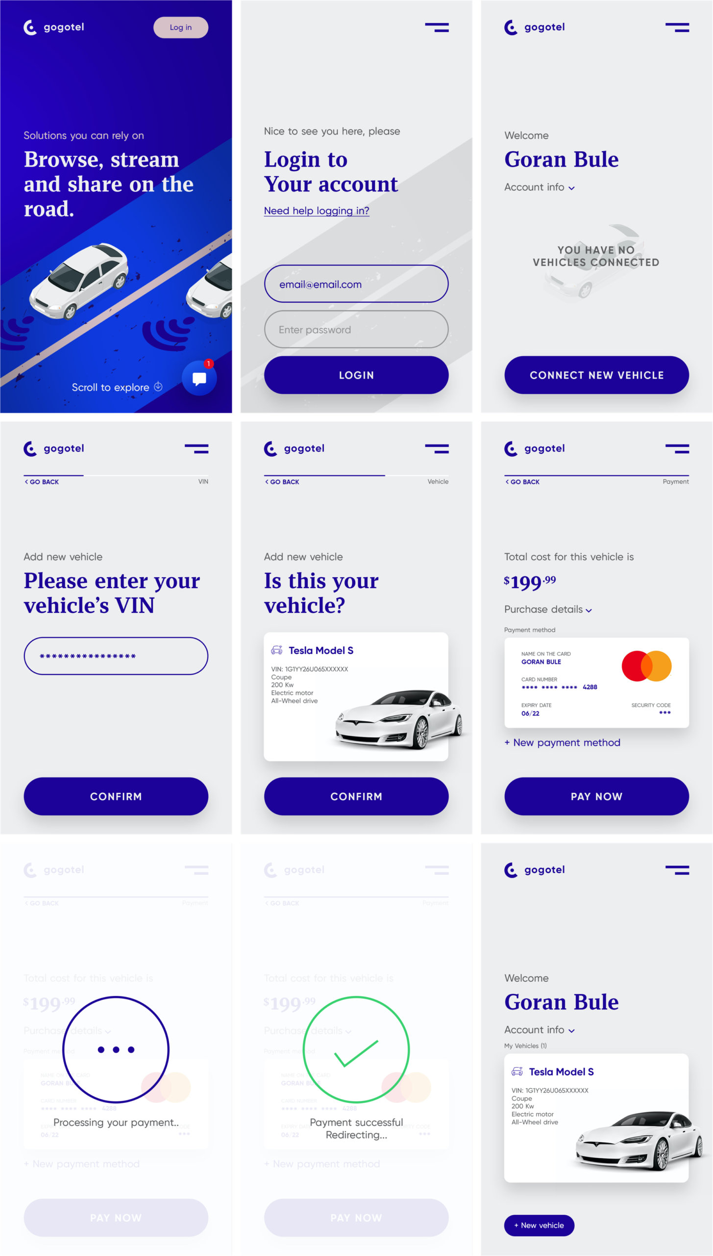 Connected Car App for Photoshop from UIGarage