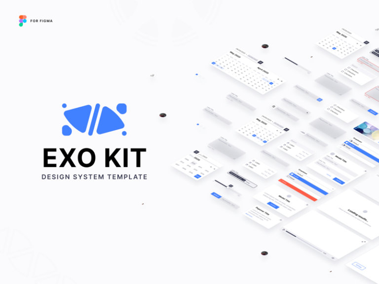 EXO KIT Design System for Figma from UIGarage